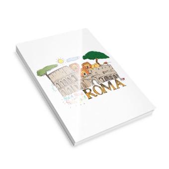 Bloccheto A5 Colosseo e Leoni