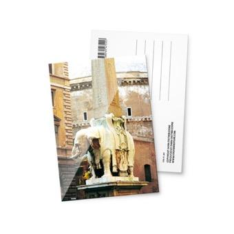 Cartolina fotografica Roma