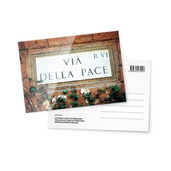 Cartolina fotografica, Via della Pace