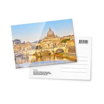 Cartolina fotografica, Panoramica Roma