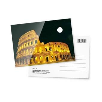 Cartolina fotografica, Colosseo di notte