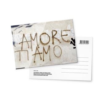 Cartolina fotografica Amore Ti Amo