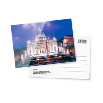 Cartolina fotografica , Basilica di San Pietro