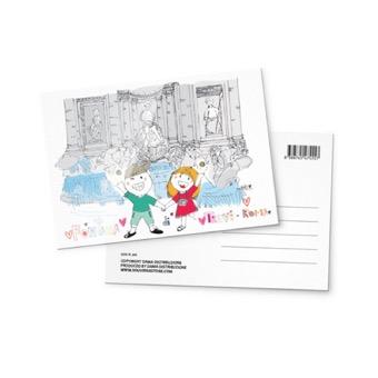 Cartolina Fontana di Trevi