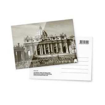 Cartolina fotografica Basilica di San Pietro