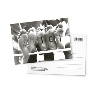 Cartolina fotografica, Amici