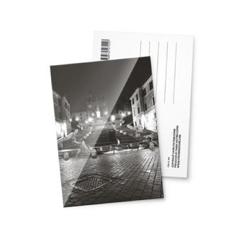 Cartolina fotografica Piazza di Spagna