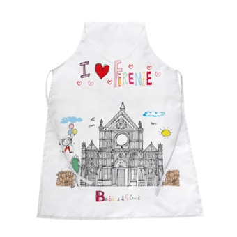 Grembiule bianco Basilica di Santa Croce, Firenze