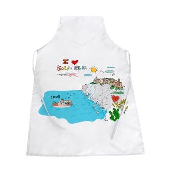Grembiule I Love Isola d'Elba