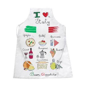 Grembiule cucina Italia Cibo