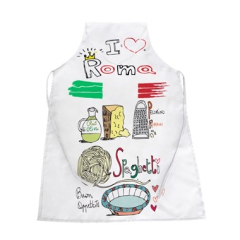 Grembiule cucina Love Italia spaghetti