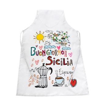 Grembiule buongiorno Sicilia