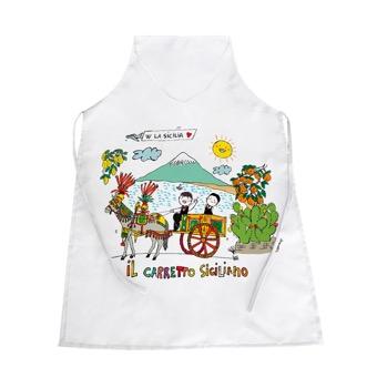 Grembiule carretto siciliano - Sicilia