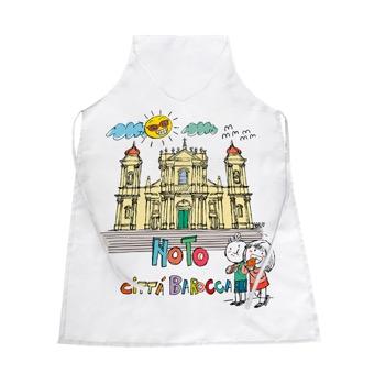 Grembiule Noto, città barocca - Sicilia
