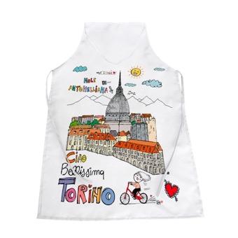Grembiule Ciao, bellissima Torino