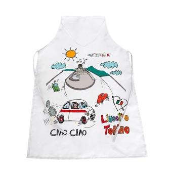 Grembiule Fiat 500 Lingotto, Torino