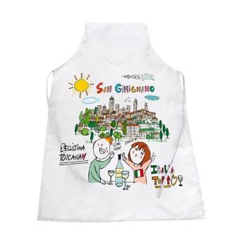 Grembiule San Gimignano, bellissima la Toscana