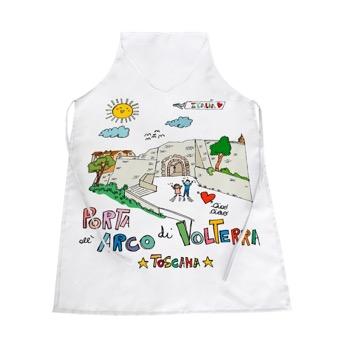 Grembiule Porta all'Arco di Volterra - Toscana