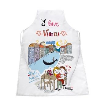 Grembiule bianco That's Amore, Venezia