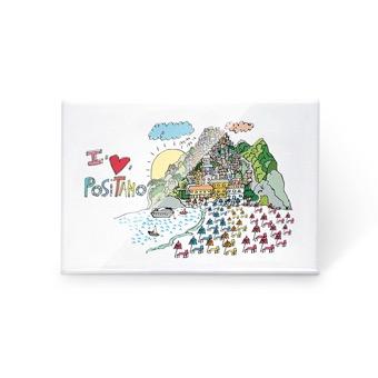 Magnete I Love Positano
