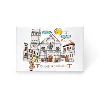 Magnete Duomo di San Rufino, Assisi