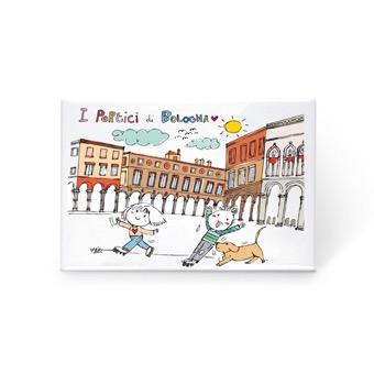 Magnete i portici di Bologna
