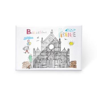 Magnete Basilica di Santa Croce, Firenze