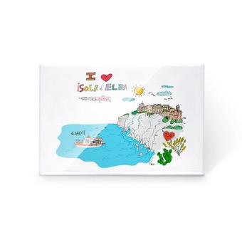Magnete I Love Isola d'Elba