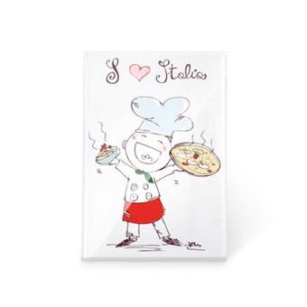 Magnete Love Pizza Italia