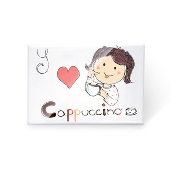 Magnete Love Cappuccino, Italia