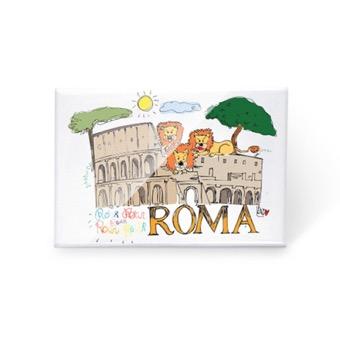 Magnete Colosseo e Leoni