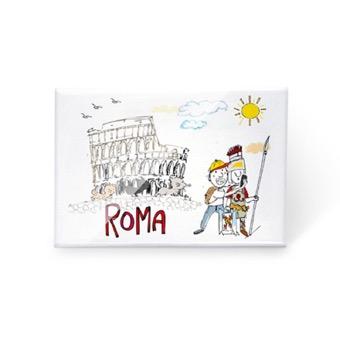 Magnete Colosseo, Gladiatore e Turista