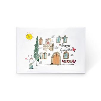 Magnete Romeo & Giulietta - Verona