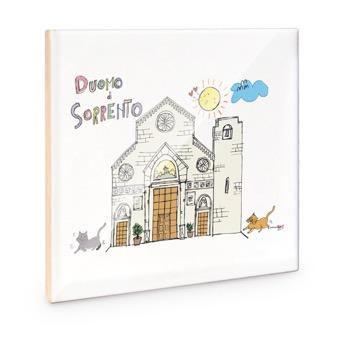 Mattonella Duomo di Sorrento