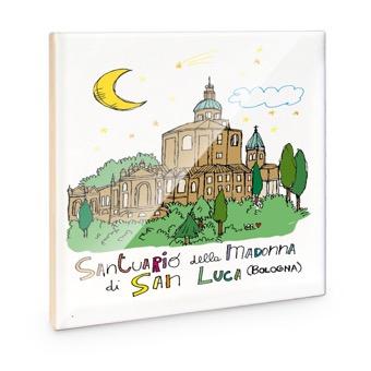Mattonella Santuario della Madonna di San Luca, Bologna