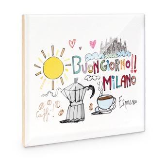 Mattonella Buongiorno Milano
