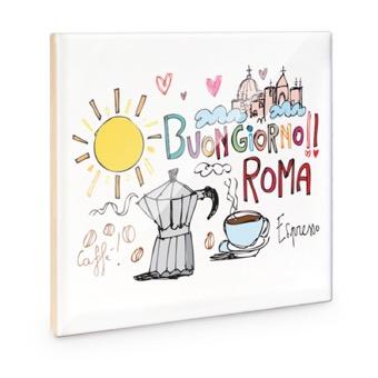 Mattonella Buongiorno Roma