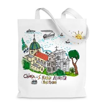 Borsa shopper Chiesa di Santa Maria Assunta - Positano