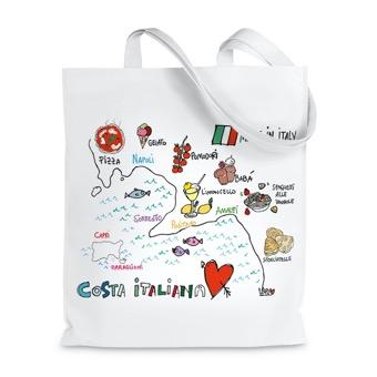 Borsa shopper Amalfi Coast