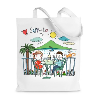 Borsa shopper  I Love Sorrento