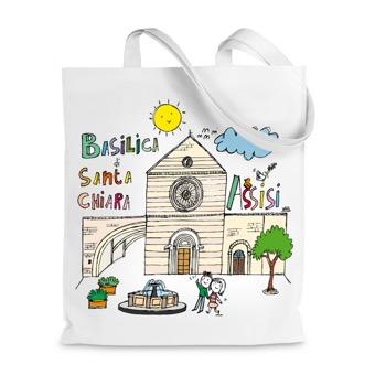 Borsa Shopper  Basilica di Santa Chiara, Assisi