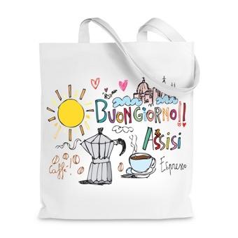 Borsa Shopper Buongiorno Assisi