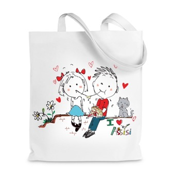 Borsa Shopper I Love Assisi