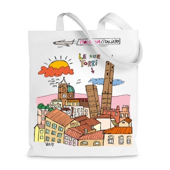 Borsa Shopper le due Torri, Bologna