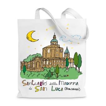 Borsa Shopper Santuario della Madonna di San Luca, Bologna