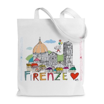 Borsa shopper Panorama Firenze