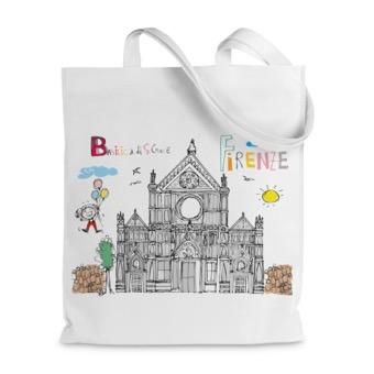 Borsa shopper Basilica di Santa Croce, Firenze