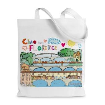 Borsa shopper Ponte Vecchio, Firenze