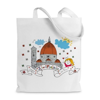 Borsa shopper Basilica Santa Maria del Fiore, Firenze