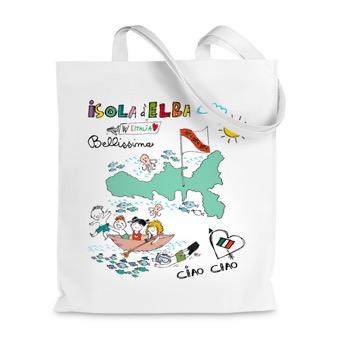 Borsa Shopper Bellissima l'Isola d'Elba